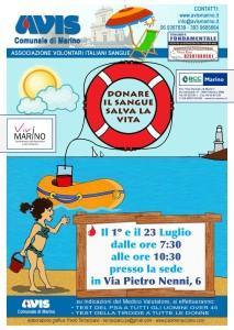locandina avis di luglio - 2016 - bozza