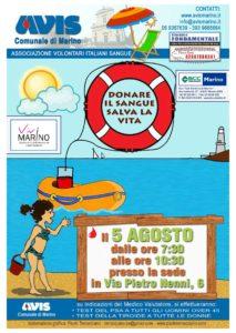 bozza locandina avis di agosto - 2016