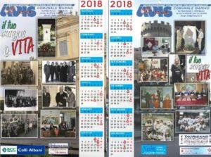 Calendario Avis.Calendario Avis Marino 2018 Avis Marino