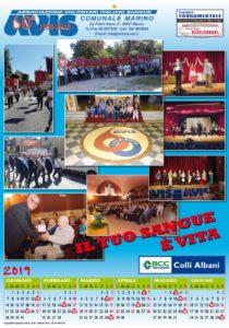 Calendario Avis.Calendario Avis 2019 Avis Marino